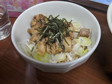 バジル鶏そば(2)