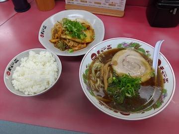 ブタキムチ定食(1)