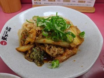 ブタキムチ定食(2)