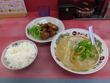 カラアゲ定食(1)