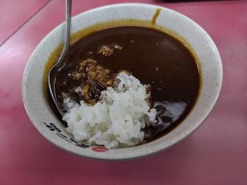 半椀カレー(1)