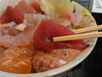 海鮮丼定食4
