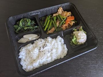 にんにくの芽と豚肉炒め(1)
