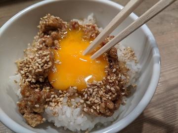 肉味噌丼(2)