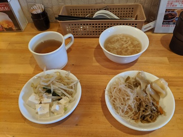 ランチの惣菜やスープ(2)