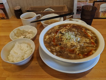 酸辣湯麺(1)