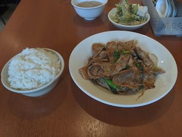生姜焼き定食(1)