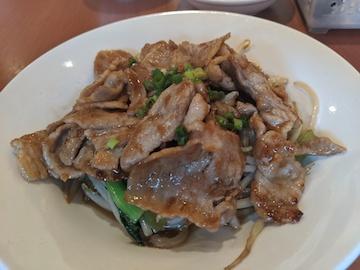 生姜焼き定食(2)