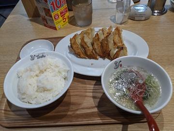 餃子定食W(1)