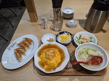 れんげセット天津飯(1)