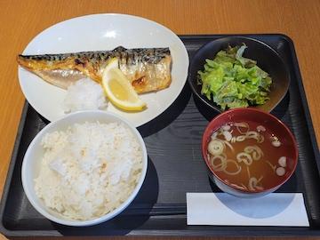 鯖の塩焼定食(全体図)