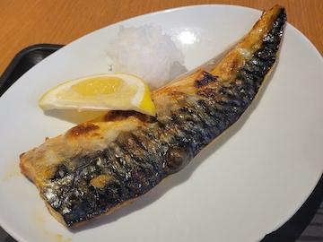 鯖の塩焼定食(サバ)