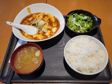 麻婆豆腐定食(全体)