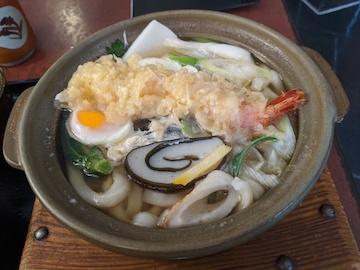 鍋焼きうどん(2)