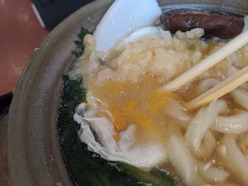 鍋焼きうどん(4)