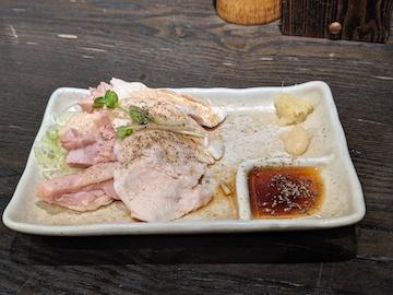 地鶏ポン酢