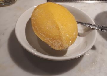 マンゴーのアイス